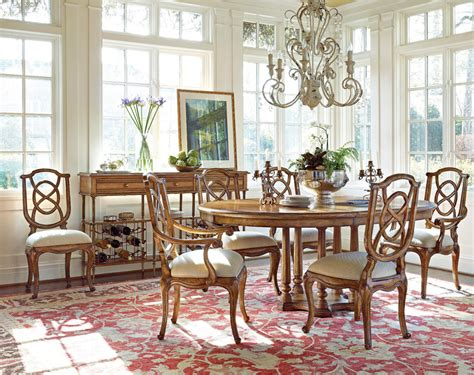 tour marais dining set by stanley furniture stanley
