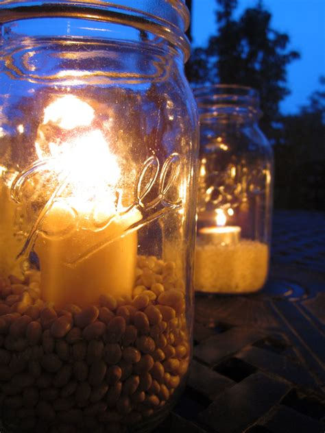 Jar Patio Lights by Outdoor Jar Lights