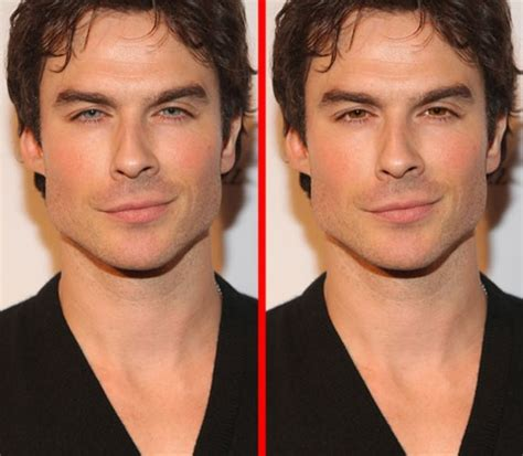 ian somerhalder face shape brown eyes are more masculine and mysterious than light