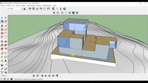 tutorial autocad curvas de nivel crear un terreno en sketchup a partir de curvas de nivel