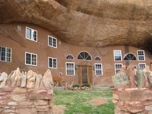 The Barn Castle Rock Cave Palace Ranch Solar Powered Cave Dwelling Is Truly A