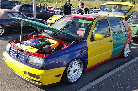 volkswagen harlequin for sale bangshift com volkswagen golf harlequin edition