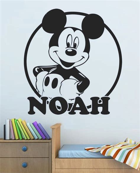 Mickey Mouse Bedroom Stickers by 17 Best Ideas About Mickey Mouse Nursery On