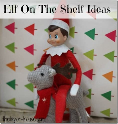 The On The Shelf Reindeer by On The Shelf Archives The House