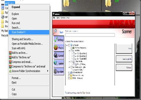 membuat antivirus di flashdisk antivirus dalam flashdisk arif rohmadi