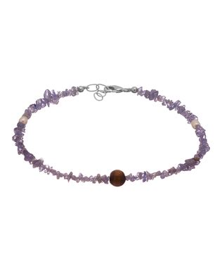 beaded appearance single anklet with beaded appearance buy designer