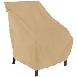 patio cover high back chair in patio furniture covers