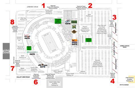 lambeau field map lambeau field green bay wi seating chart view