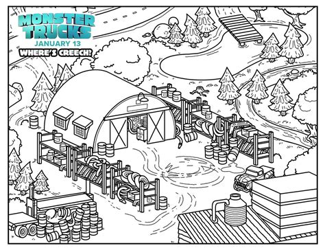 monster truck coloring pages games monster trucks new clips games and activities