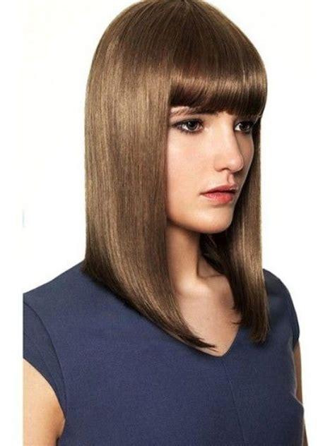 Shoulde Length Bobs Without Fringe | shoulde length bobs without fringe cute long haircuts