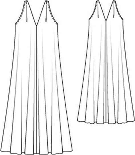 flowy maxi dress 06 2015 118 sewing patterns