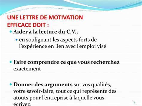 Lettre De Motivation Entreprise Ciblée Ppt La Lettre De Motivation Powerpoint Presentation Id 3792524