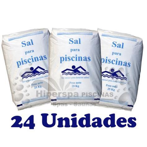 sacos de sal sal para piscinas 24 sacos hiperspa