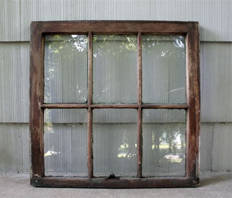 salvaged 6 pane window by cristinasroom on etsy