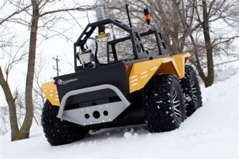 electric 4x4 vehicle grizzly electric utility vehicle by clearpath robotics