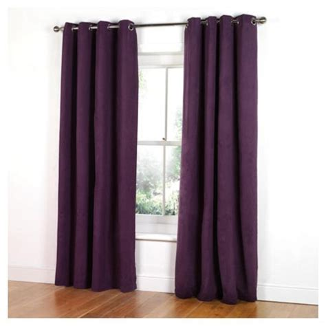 tesco eyelet curtains buy tesco faux suede unlined eyelet curtains w168xl183cm