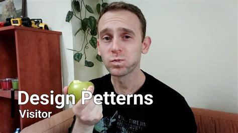 visitor pattern default design patterns visitor youtube