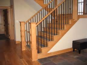 Stair Banister Spindles Interior Railings Traditional Entry Vancouver By