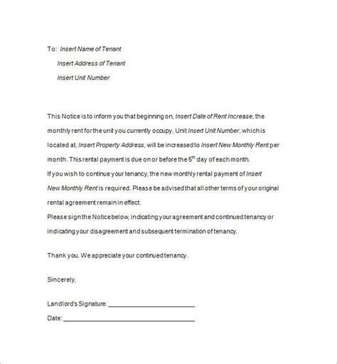 tenancy notice templates premium