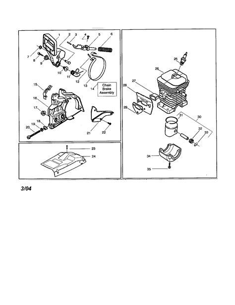 Husqvarna Chain Saw Parts Model 141 Sears Partsdirect