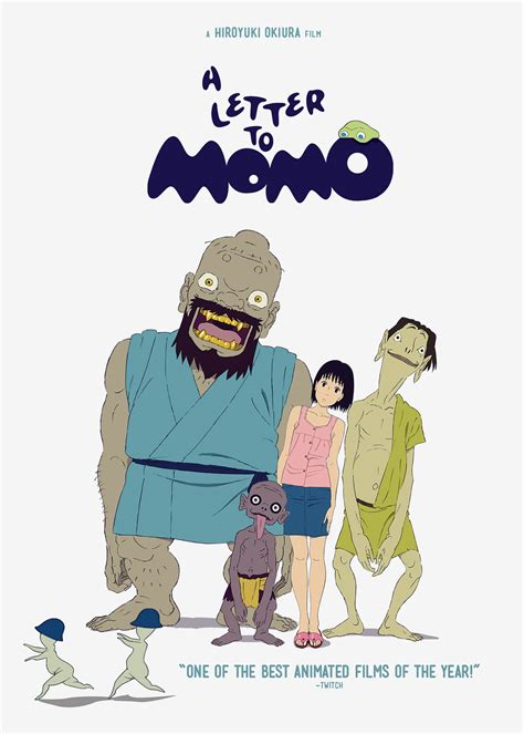 Letter Japanese Cast A Letter To Momo Gkids Cinedigm Entertainment