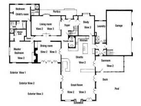 Residential Building Plans by Ideas Residential Floor Plans Designs With The Portico