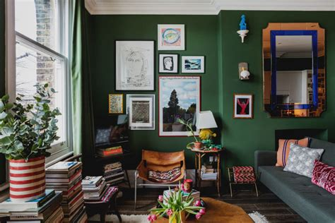 flat goes all in on color and whimsical decor curbed