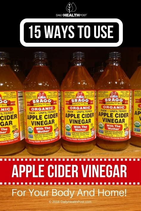 Apple Cider Vinegar Detox How Often by 24 Best Other Things To Do With But Why Images On