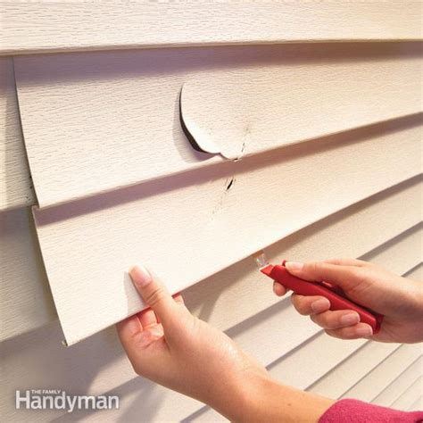 how to replace vinyl siding on a house how to replace vinyl siding the family handyman