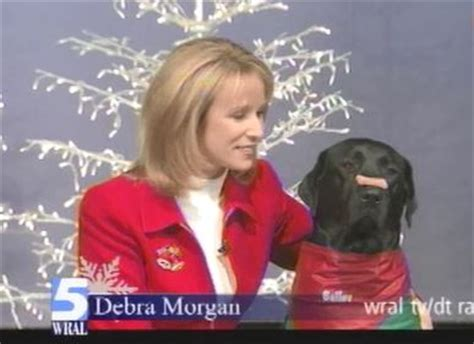 wral puppies greeting from wral news anchor debra and cbc history