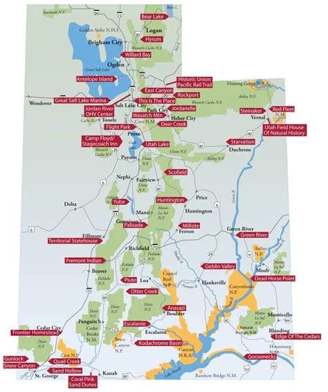 utah national parks map enjoy utah june 2011