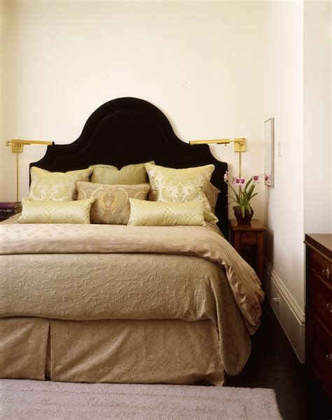 Padded Headboard Designs Imaginative Upholstered Headboard Designs With Nailhead Detail Beds