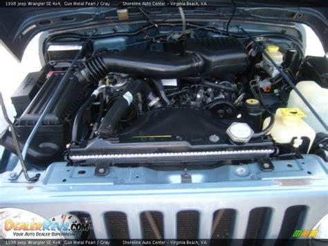 2 5l Jeep Engine 1998 Jeep Wrangler Se 4x4 2 5l Inline 4 Cylinder Engine