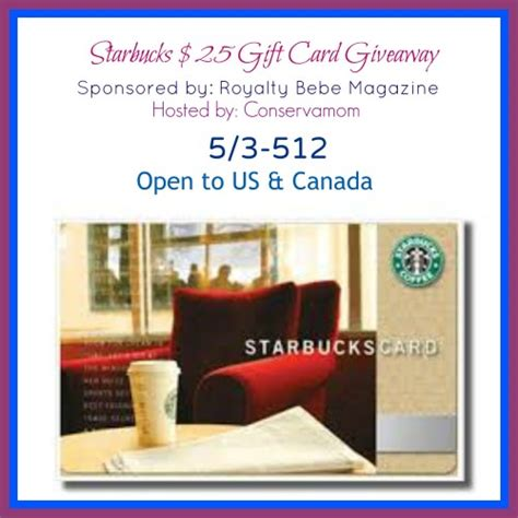 25 Starbucks Gift Card - 25 starbucks gift card giveaway life with kathy