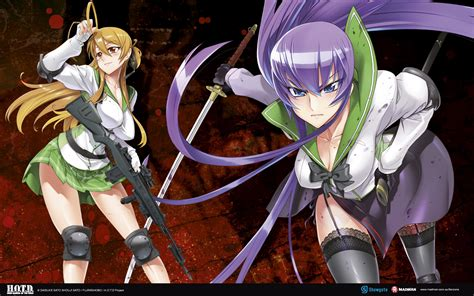 highschool of the dead high school of the dead madman entertainment