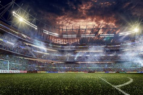 Hd Wall Murals dramatic football stadium wall mural photo wallpaper