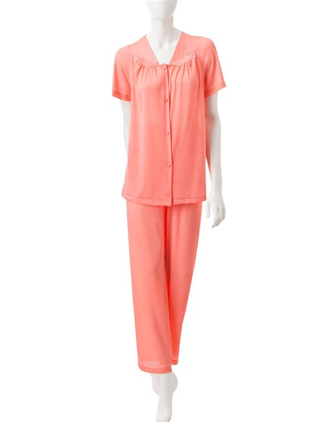 Vanity Fair Pajamas by Vanity Fair Tricot 2 Pc Solid Color Pajamas Stage Stores