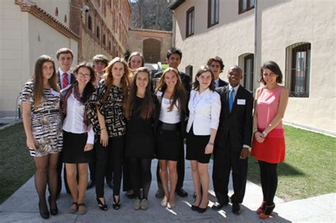 Mba Education Spain by World News On Ie 180 S Junior Advisory Board 2012