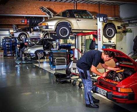 porsche technician warp for porsche and technicians