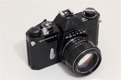 Pentax Spotmatic F Kamera Analog free images photography photo equipment black japan asahi reflex