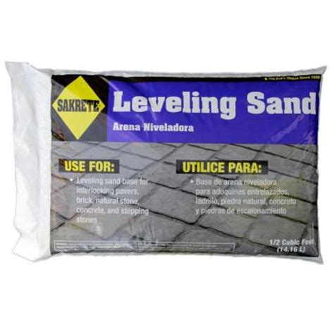 sakrete step 2 patio paver leveling sand 40100316 the