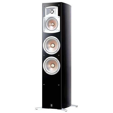 Yamaha Floor Standing Speakers by Yamaha Ns 555 250w Floorstanding Speaker Black Ns 555 B H