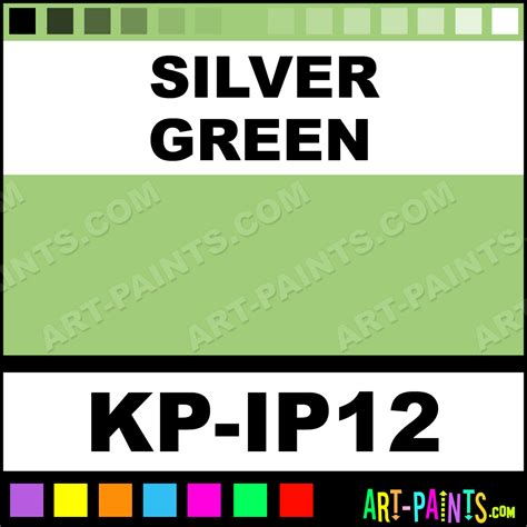 silver green interferenze 12 paints kp ip12 silver green paint silver green color