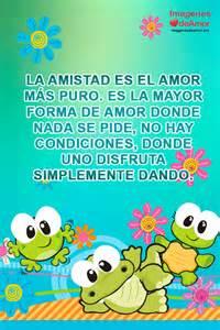 Frases De Amistad  La Es El Amor M&225s Puro