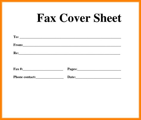 8 free fax cover sheet printable pdf ledger review