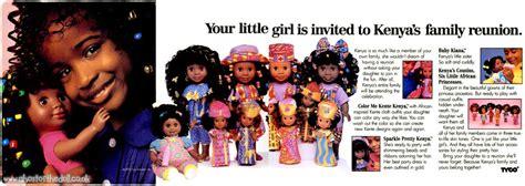 kenya doll  tyco adverts  retro musings
