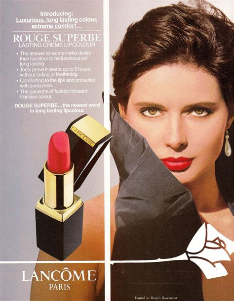 Makeup Ads pin by svetlana on vintage make up ads lancome 1990s and rossellini