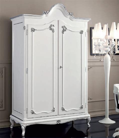 guardaroba bianco armadio bianco classico in stile dec 242 guardaroba a due