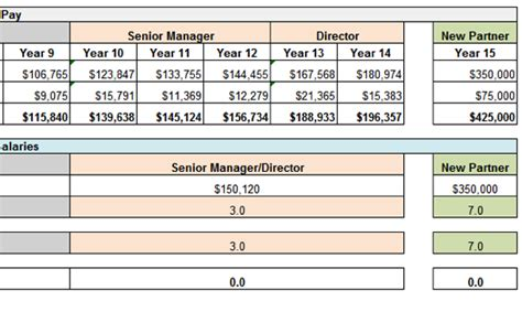 Pwc S New Compensation Structure Gets The Spreadsheet It Deserves Going Concern Compensation Spreadsheet Template
