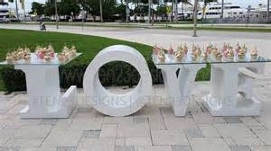 Home oversized table letters or numbers